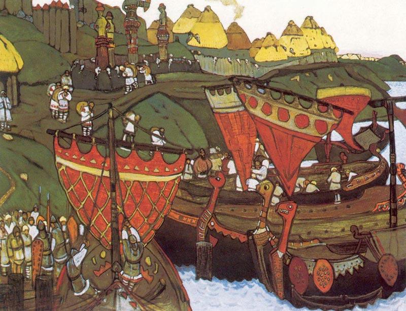 Рынки на Руси. Фото с сайта allart.biz