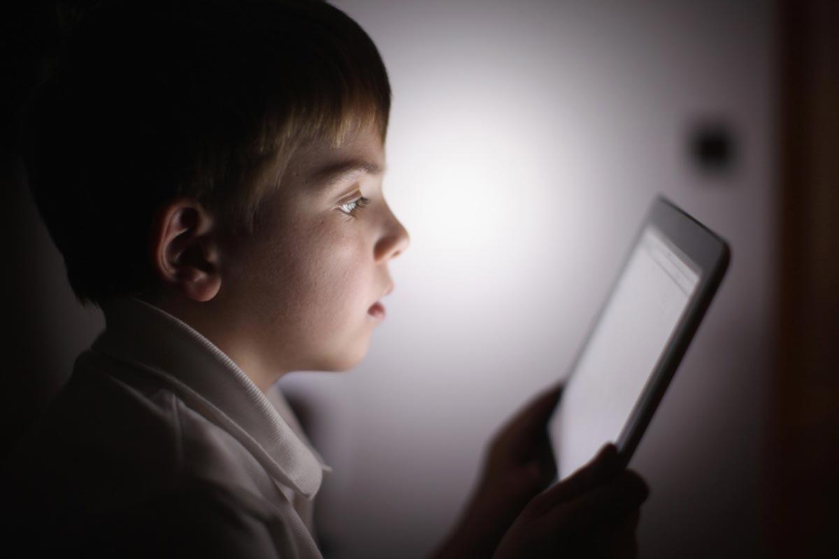 Главное, чтобы ребенок не потерялся в мире технологий. Фото с сайта www.slate.com