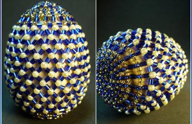 Пасхальное яйцо из бисера. Фото с сайта masterbisera.ru