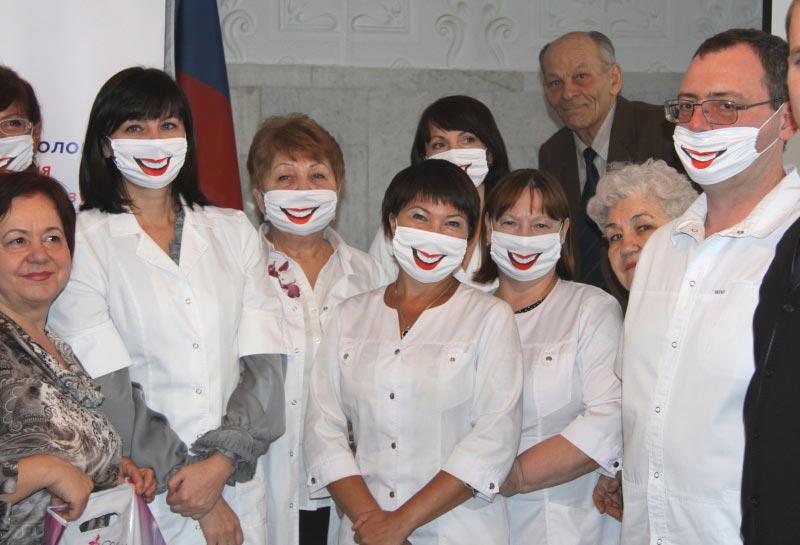 Врачи тоже имеют право повеселиться. Фото с сайта minzdrav.samregion.ru