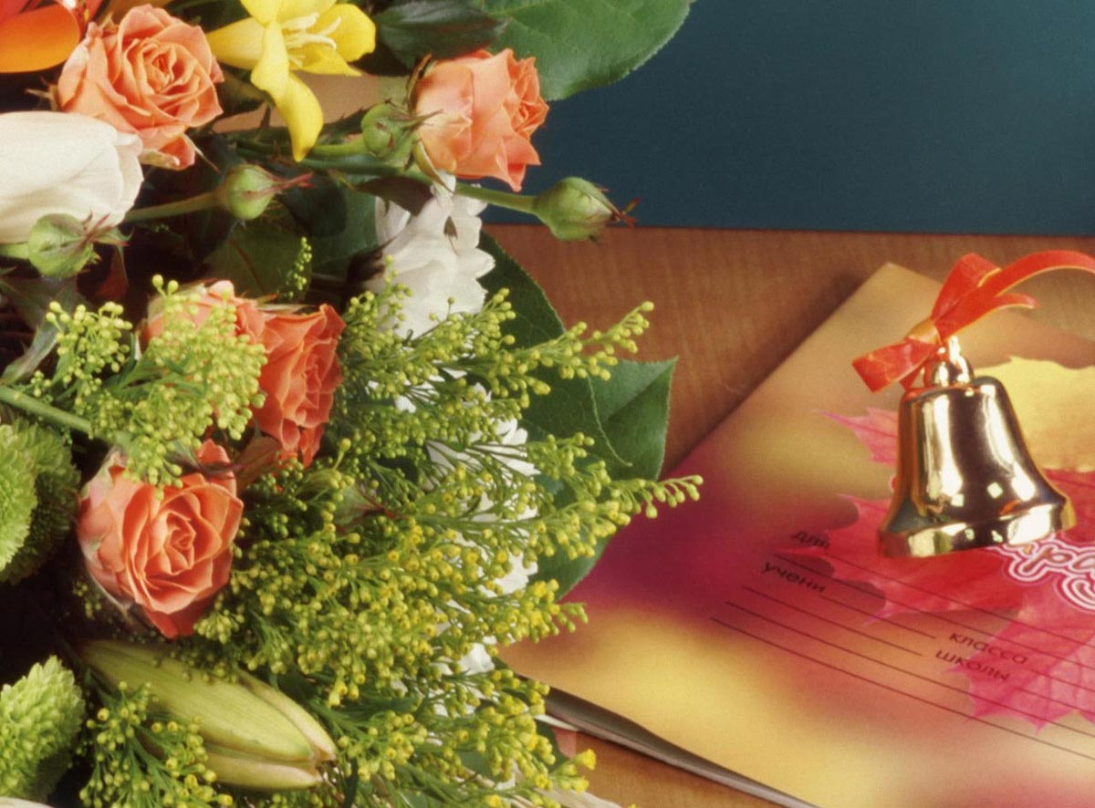 Букет цветов - знак признания учителям. Фото с сайта proflorist.ru