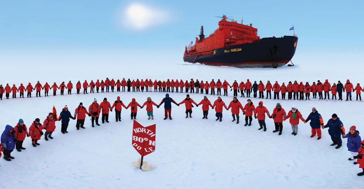 Северный полюс. Фото с сайта www.nordpol-reisen.de