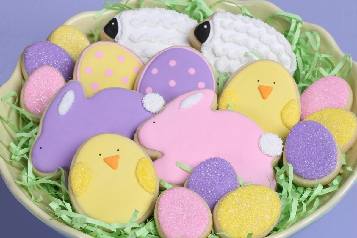 Яркие пасхальные блюда. Фото с сайта photobucket.com