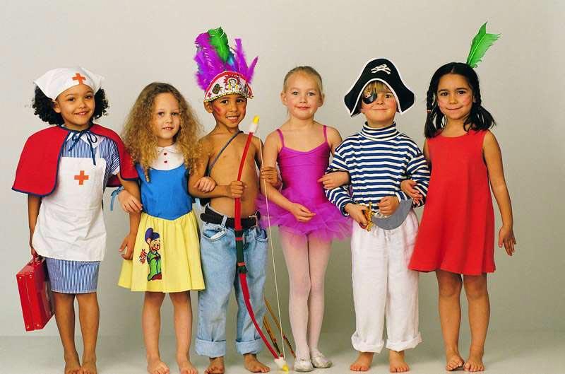 Каждый ребенок уникален. Фото с сайта www.prazdnitsa.ru