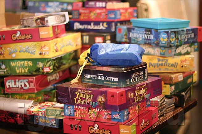 Детские настольные игры. Фото с сайта www.igroved.ru