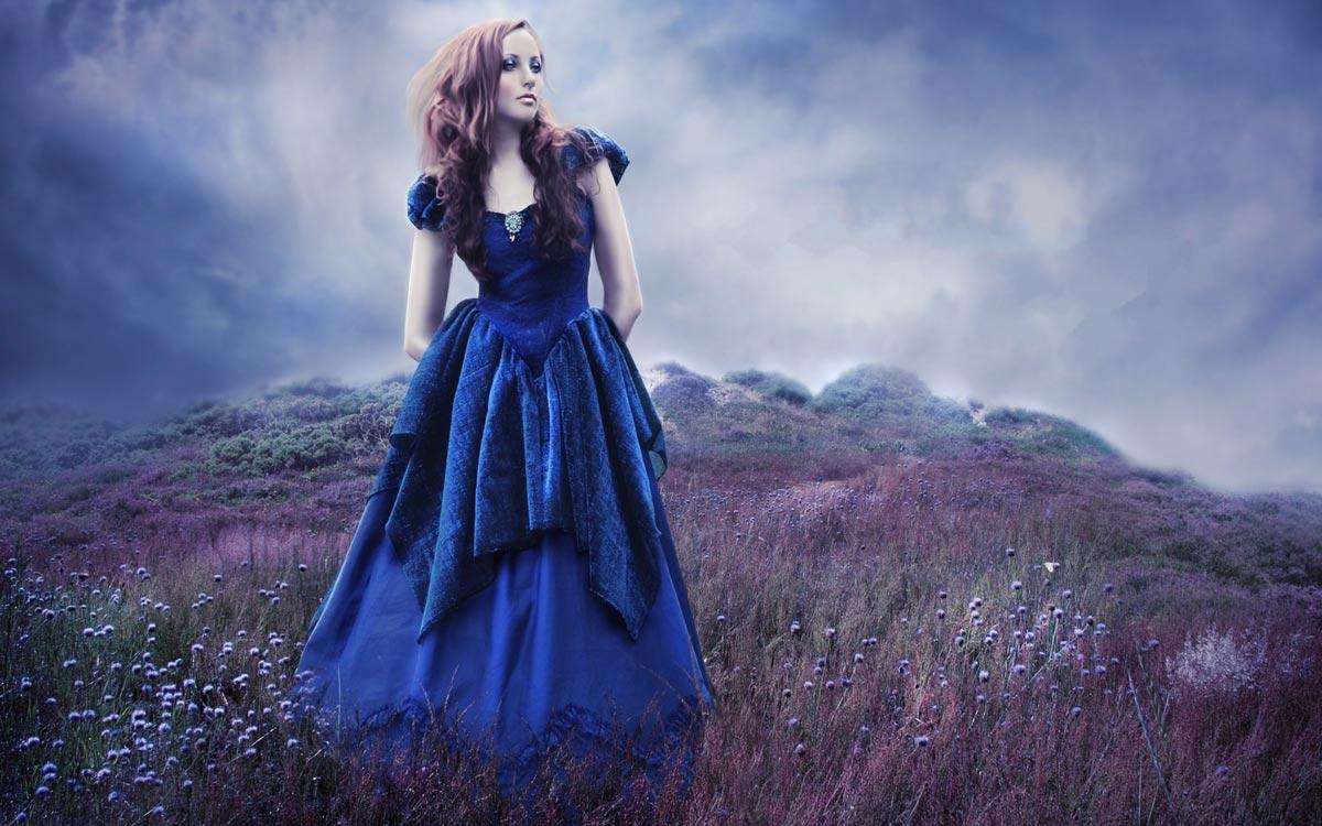 Синий - благородный цвет. Фото с сайта motto.net.ua