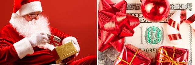 Дарить подарки может не только Дед Мороз. Фото: kingcoupon.ru