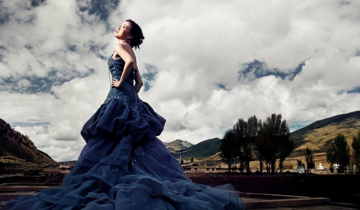 Платье настоящей принцессы. Фото с сайта openwalls.com 1