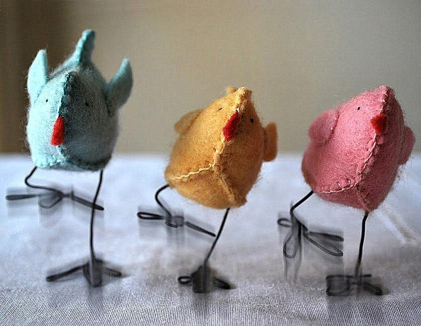 Милые пасхальные цыплята. Фото с сайта sami-s-rukami.ru