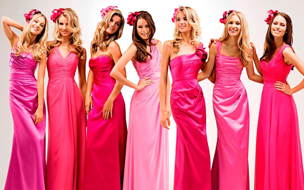 Многообразие розовых нарядов