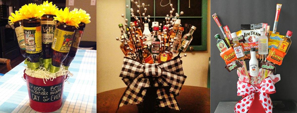 Необычные букеты из еды. Фото с сайта media.flowers-city.com.ua