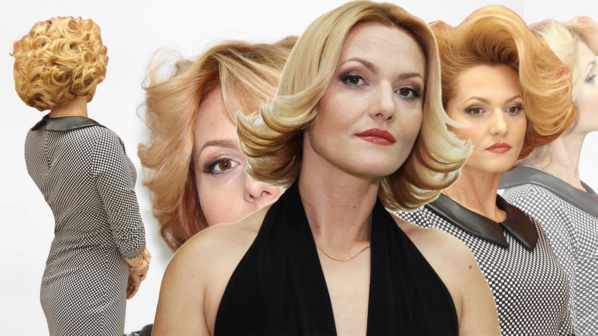 Кудри возможны и на коротких волосах. Фото с сайта ytimg.com