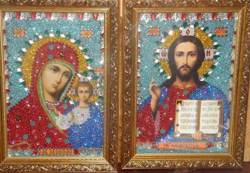 Иконы на венчание. Фото с сайта biserinka.at.ua