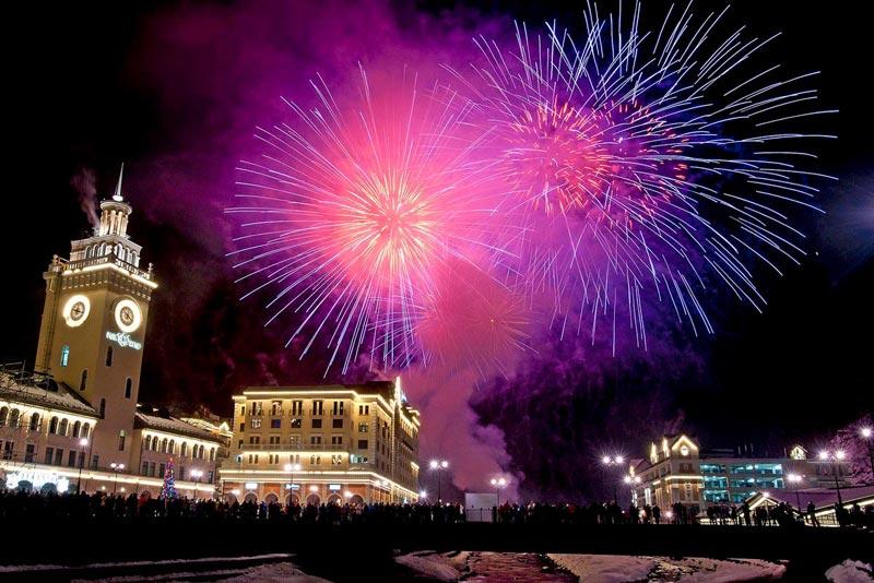 Новый год в Европейских странах. Фото с palmbeachpost.com 5