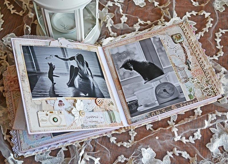 Памятный альбом - всегда хороший презент. Фото с сайта aquamaniya.ru