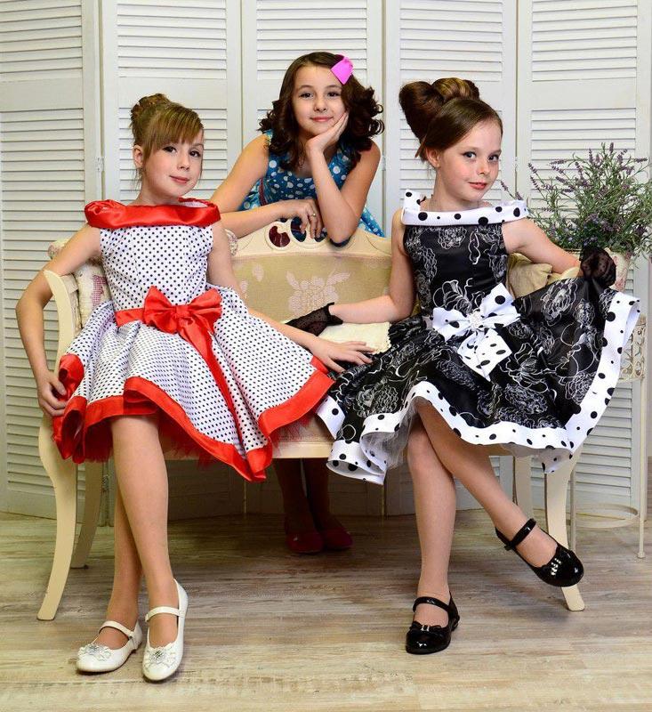 Детское платье стиляги. Фото с сайта www.solnyshko.kiev.ua