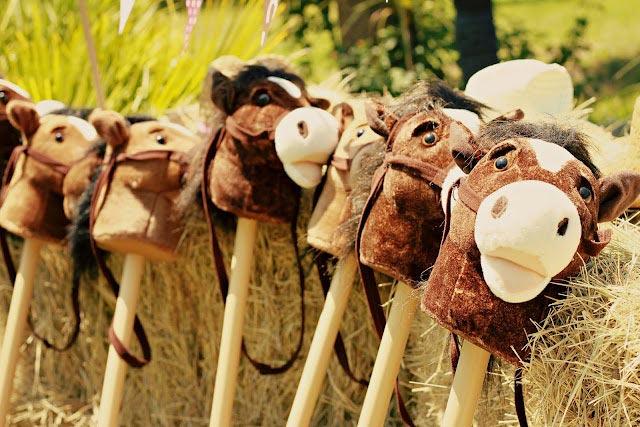 Куда же индейцы без верных скакунов? Фото с сайта maski.by