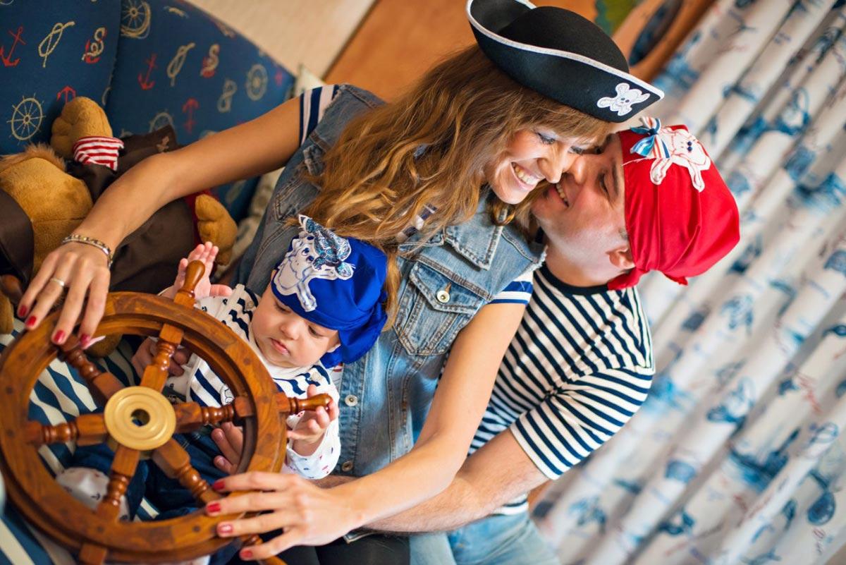 Пиратская вечеринка на Новый год. Фото с сайта mrwed.ru