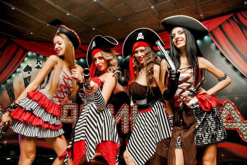 Зажигательные пираты. Фото с сайта admiral.by