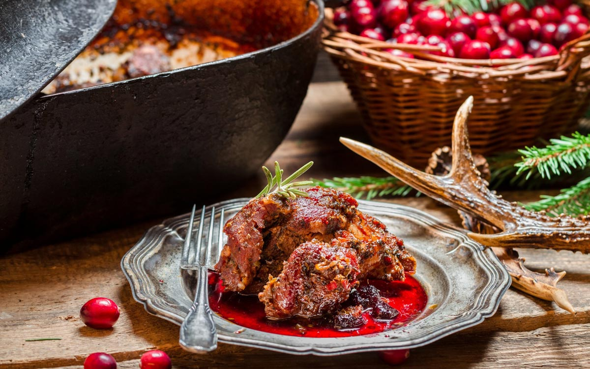 Вкусное праздничное мясо. Фото с сайта goodfon.ru