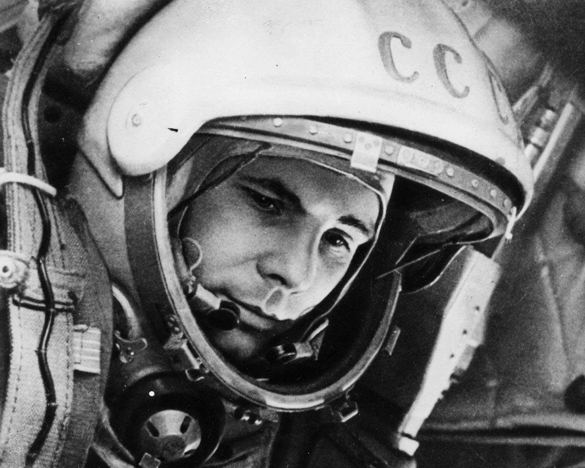 Первый полет Гагарина. Фото с сайта wallpaperscraft.ru