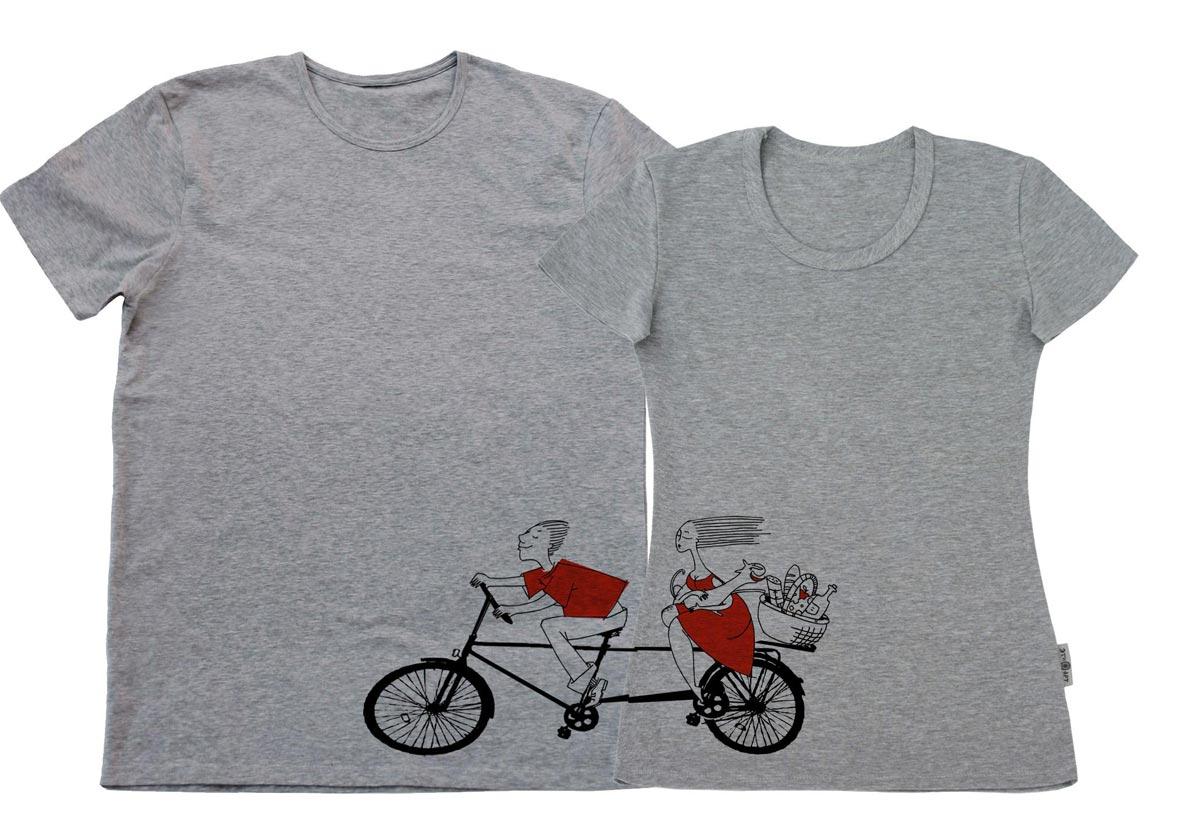 Парные футболки. Фото с сайта blog.alsevin.az