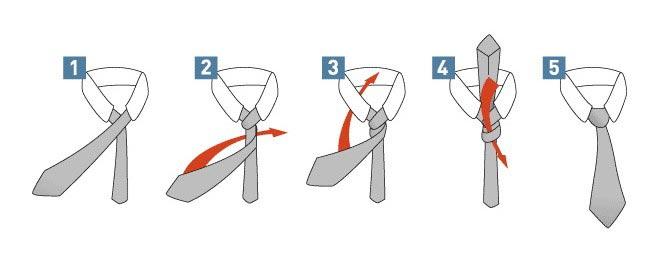 Как завязать галстук. Фото с сайта www.ya-dandy.com