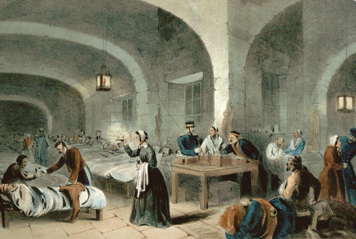 История Дня Медсестры. Фото с сайта www.healinghealth.com