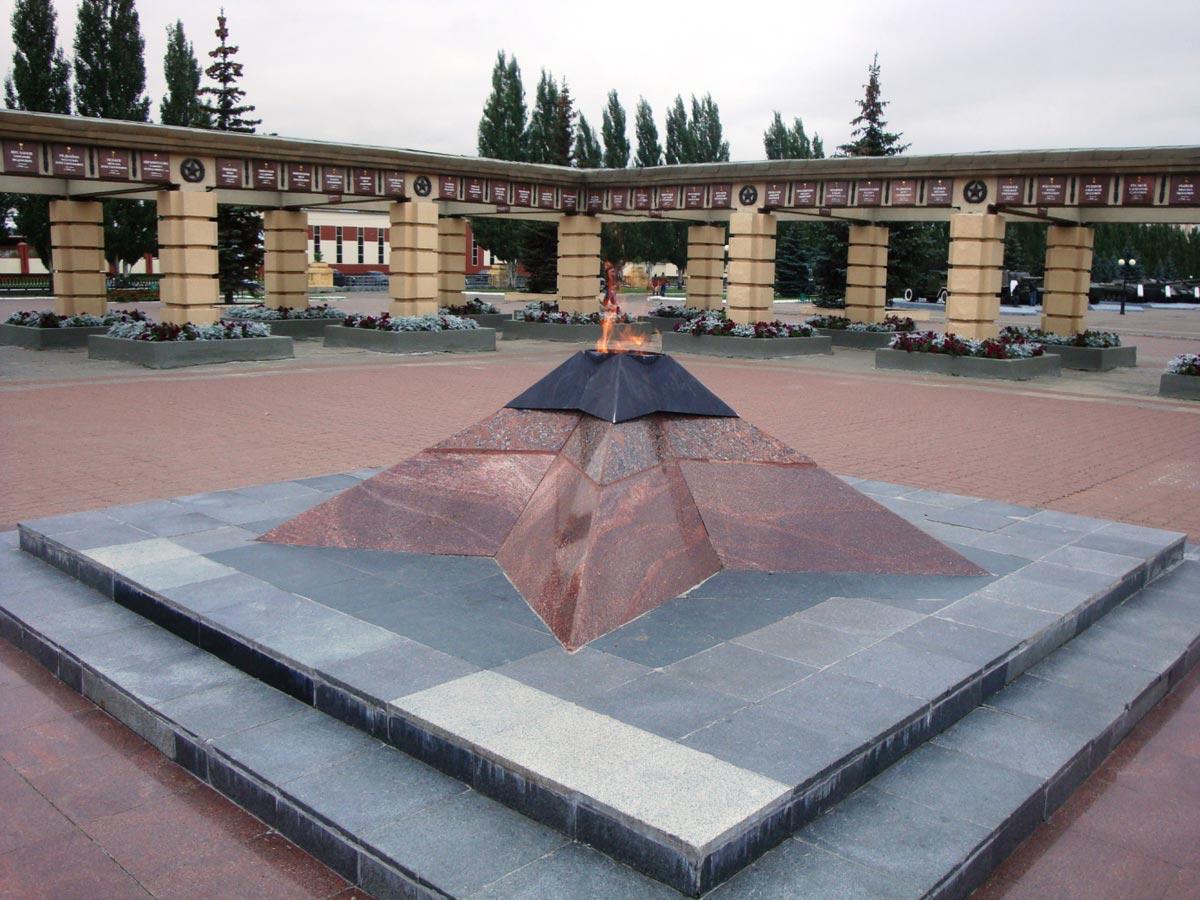 Вечный огонь в Казани. Фото с сайта rutraveller.ru