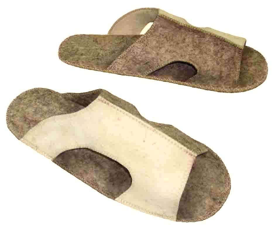 Сшить своими руками тапочки не очень сложно. Фото с сайта saunaru.com