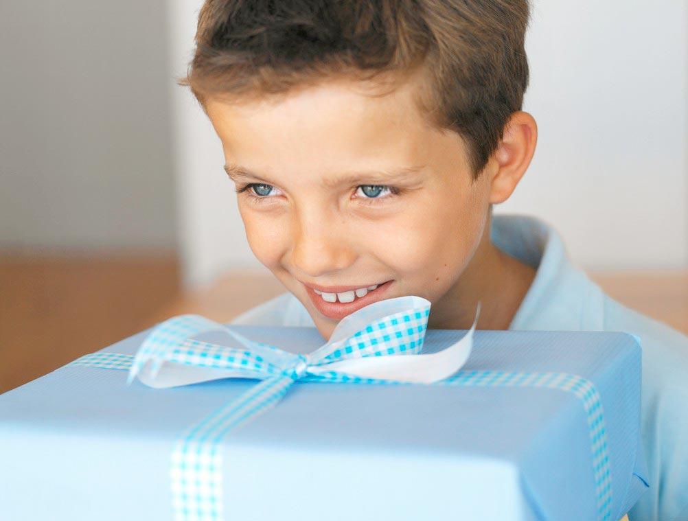 Подарите ребенку то, о чем он мечтает