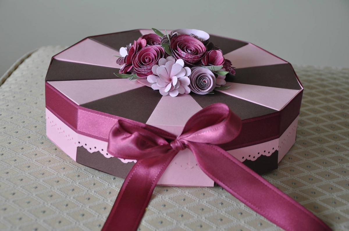 Коробка для торта кусочками. Фото с сайта heaclub.ru