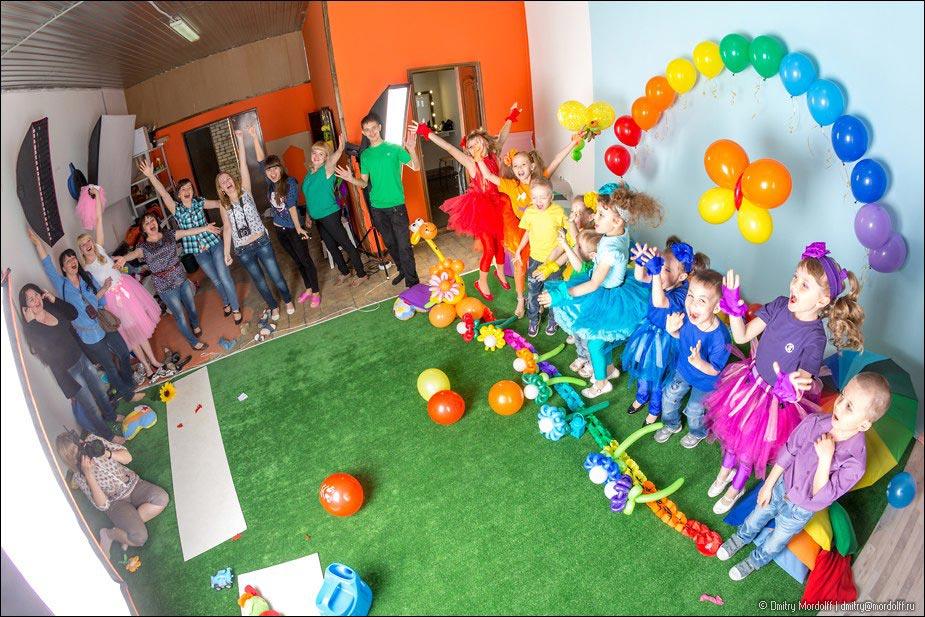 Воздушные шары любят дети