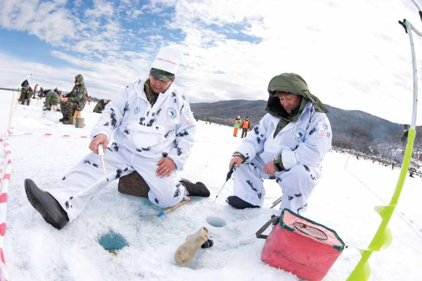 Зимняя рыбалка для профессионала. Фото с сайта topreferat.znate.ru