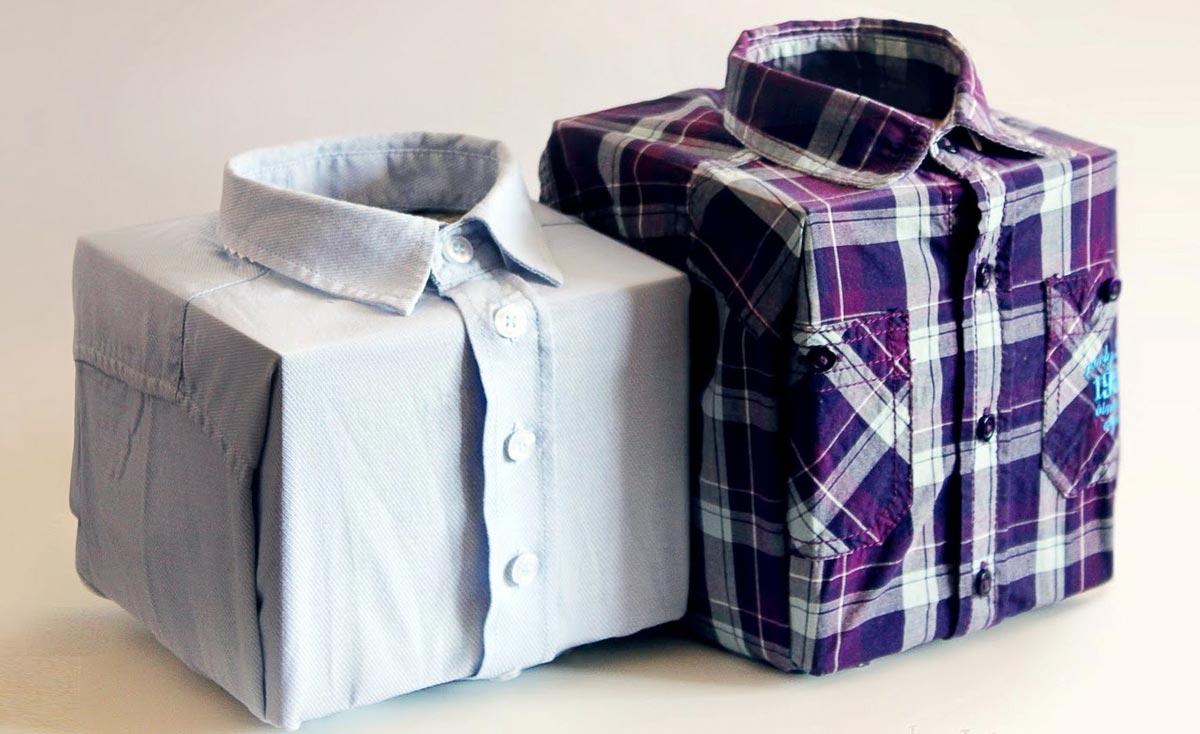 Оригинальное оформление мужского подарка. Фото с сайта try-design.com.ua