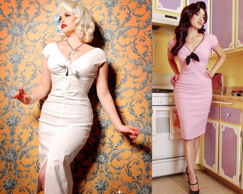 Обтягивающее платье стиляги. Фото с сайта pixeltales.userecho.com