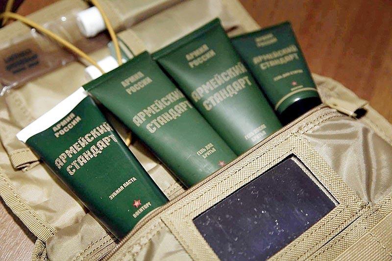 Оригинальный набор косметики. Фото с сайта patriotika.biz