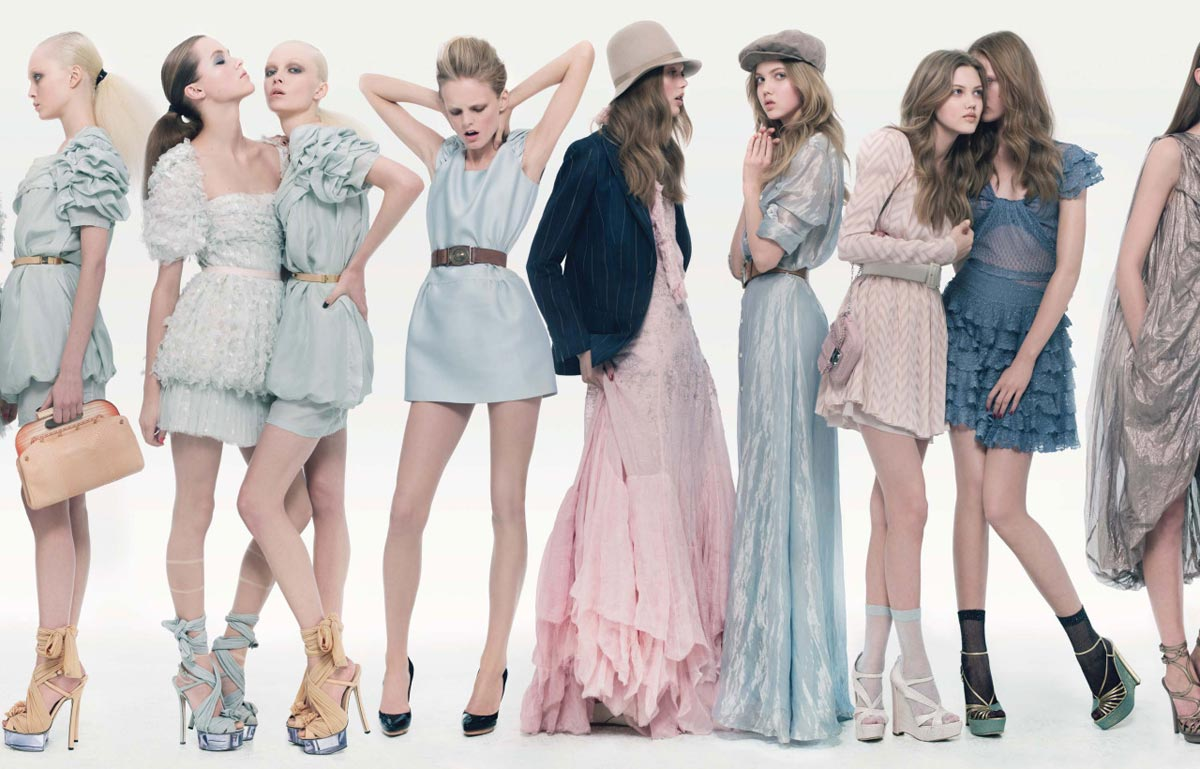 Варианты платьев на 8 Марта. Фото с сайта 40.media.tumblr.com