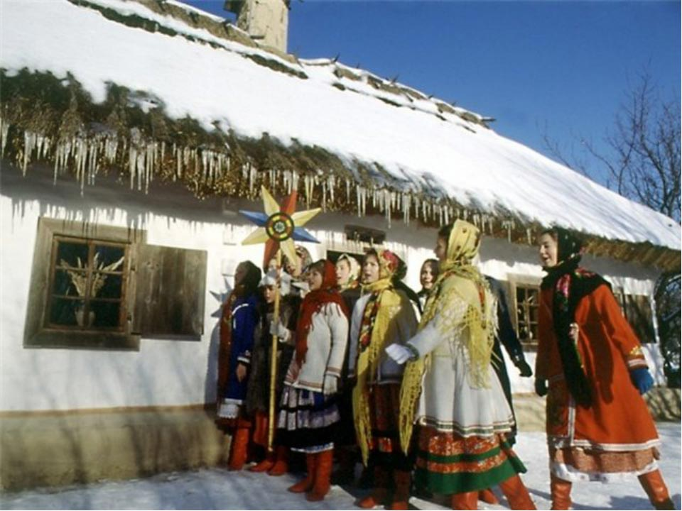 На Руси празднование Рождества традиционно было с размахом. Фото с сайта infourok.ru