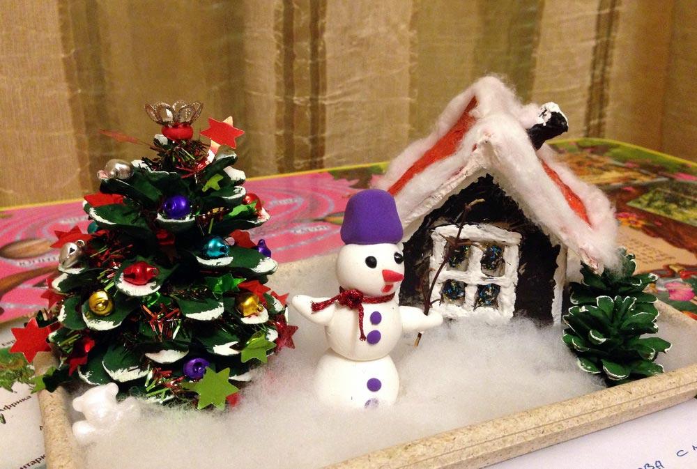 Сделайте елку с ребенком. Фото с сайта www.osd.ru