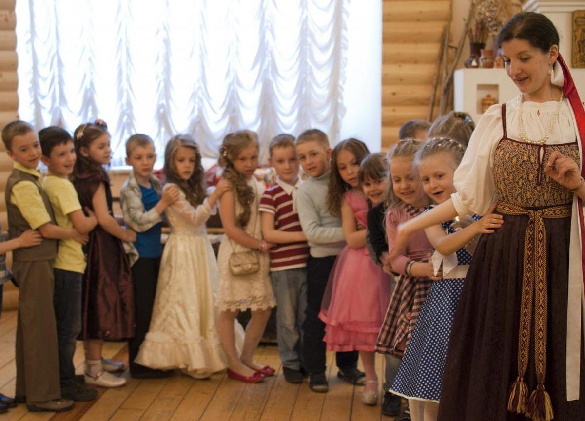 Все дети будут вовлечены в процесс. Фото с сайта www.ethnomuseum.ru
