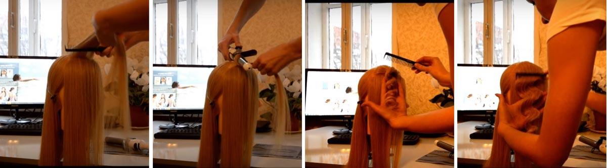 Инструкция, как создать волну. Фото с сайта lokoni.com
