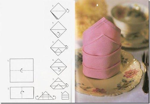 """Свечи"" из бумажных салфеток. Фото:vkusneedoma.ru"