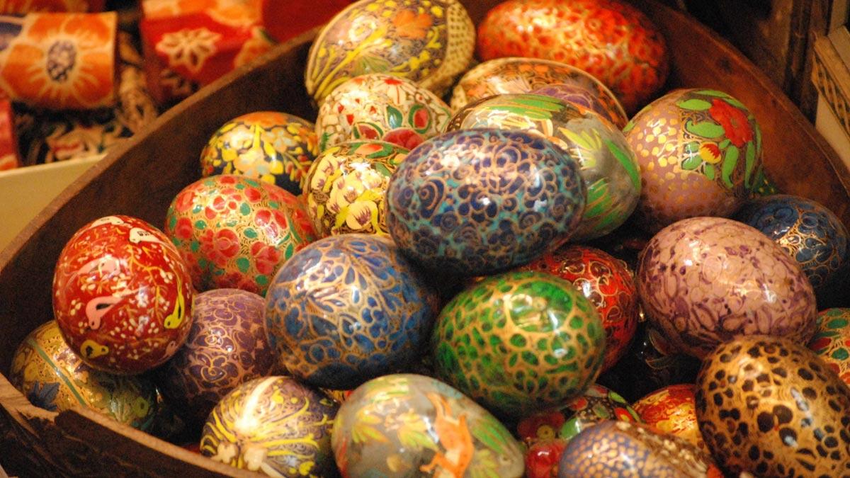 Крашенки на Пасху. Фото с сайта www.anypics.ru