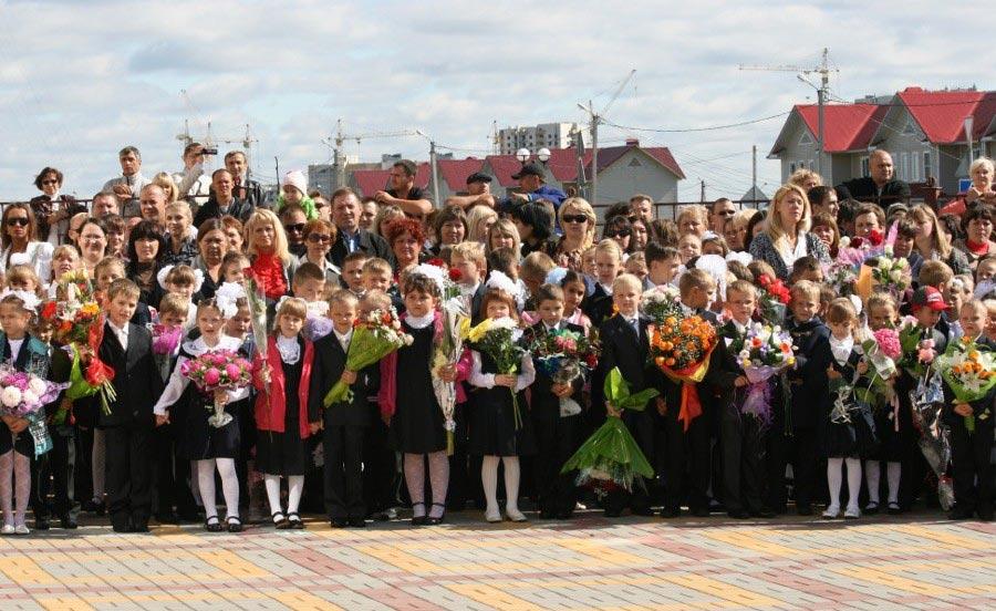 На линейке дети могут заскучать Фото с сайта www.msktambov.ru