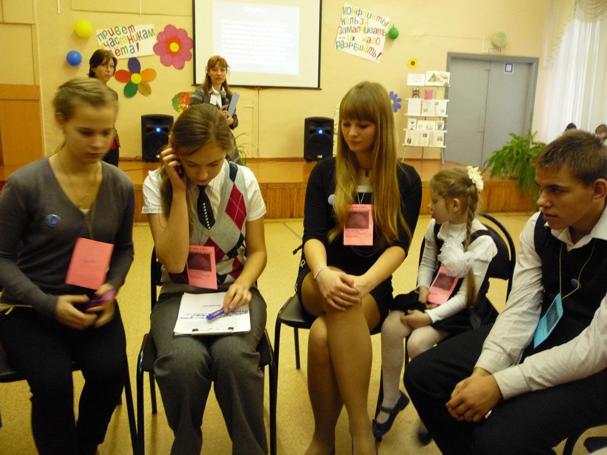 Сценка на тему школы. Фото с сайта school60rzn.ru