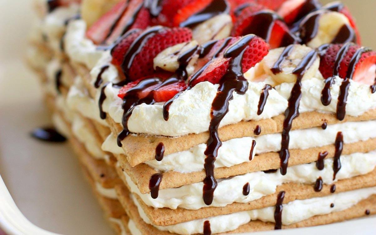 Пирожное в домашних условиях. Фото с сайта 1wallpaper.net