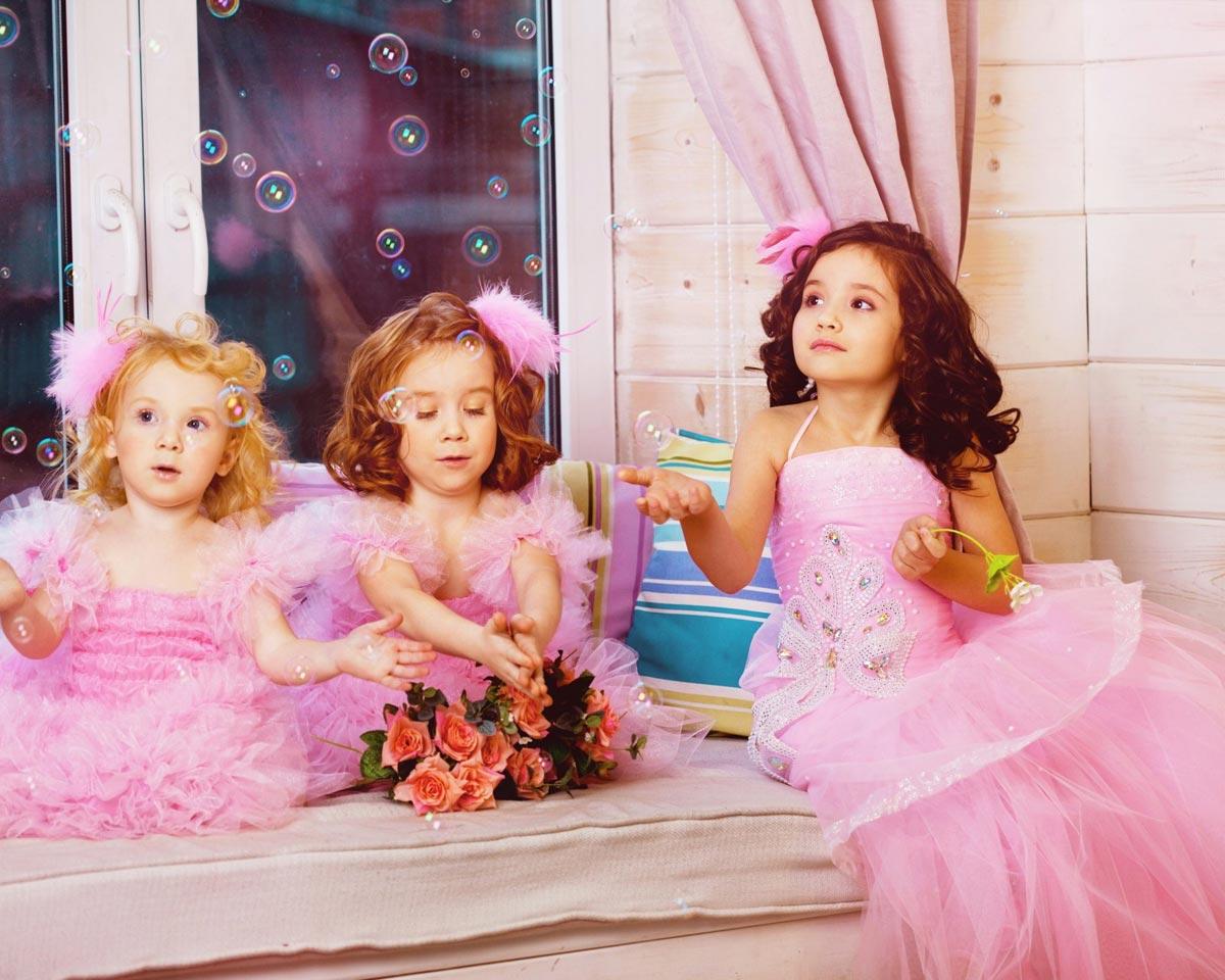 Наряды для юных модниц. Фото с сайта topwalls.net