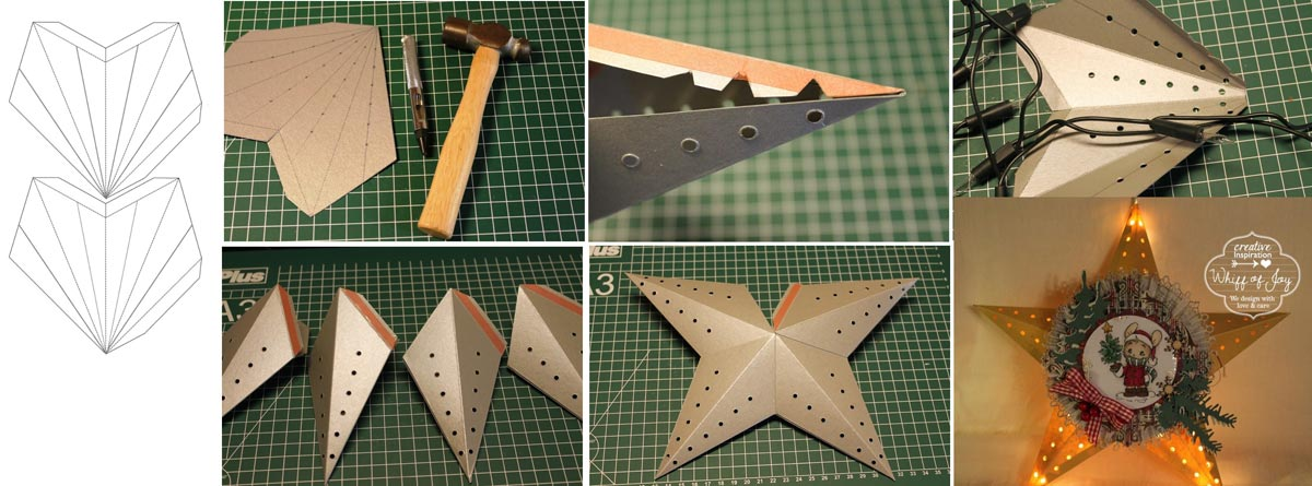 "Бумажный светильник ""звезда"". Фото с сайта www.li.ru"