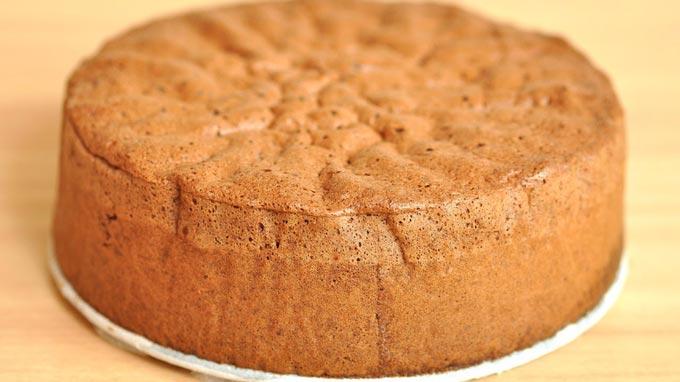 Для кейк попсов подойдет классический бисквит. Фото с сайта imgbb.ru